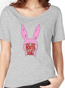 Shut Your Mouth It's Art Crawl Women's Relaxed Fit T-Shirt