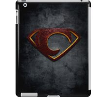 """The Letter C in the Style of """"Man of Steel"""" iPad Case/Skin"""