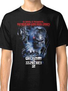 Alien Vs. Predator 2 Korea Poster Classic T-Shirt