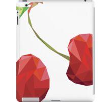 Cherry Low-poly  iPad Case/Skin