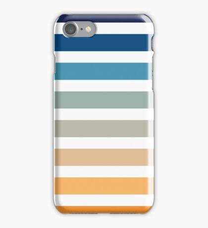 Beach- Sand, Ocean, Sky Color Theme iPhone Case/Skin