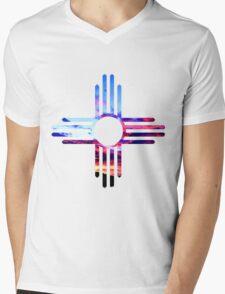 Zia Sky Mens V-Neck T-Shirt