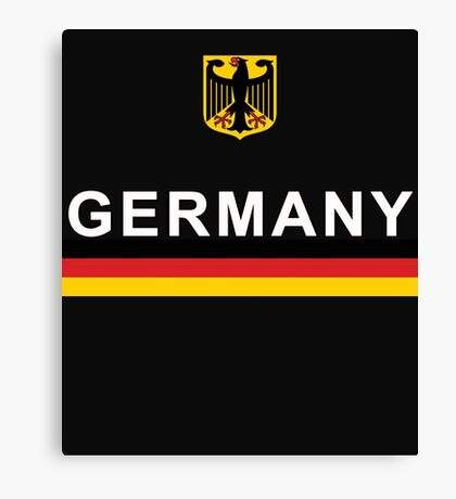 Germany National Sports Team Design Canvas Print