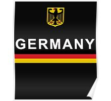 Germany National Sports Team Design Poster