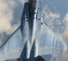 F-15 Eagle in Flight Sticker
