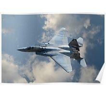 F-15 Eagle in Flight Poster