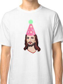 Happy Birthday Jesus Funny Christmas Shirt Classic T-Shirt