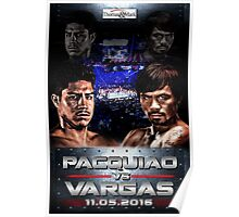 pacquiao vs vargas Poster
