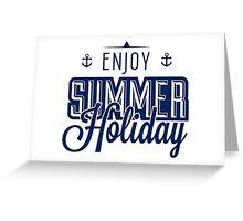 Summer holiday Greeting Card