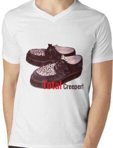 Total Creeper!  Mens V-Neck T-Shirt