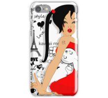 Lolita girl iPhone Case/Skin