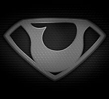 """The Letter U in the Style of """"Man of Steel"""" by BigRockDJ"""