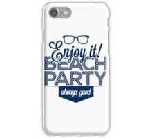 Beach party iPhone Case/Skin