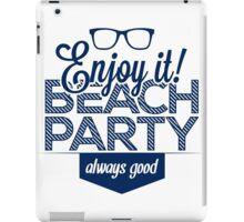 Beach party iPad Case/Skin