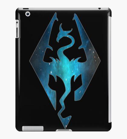 Blue Galaxy Seal of Akatosh iPad Case/Skin