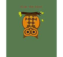 flip the bird Photographic Print