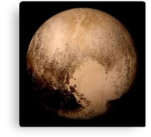 Pluto super high resolution Canvas Print