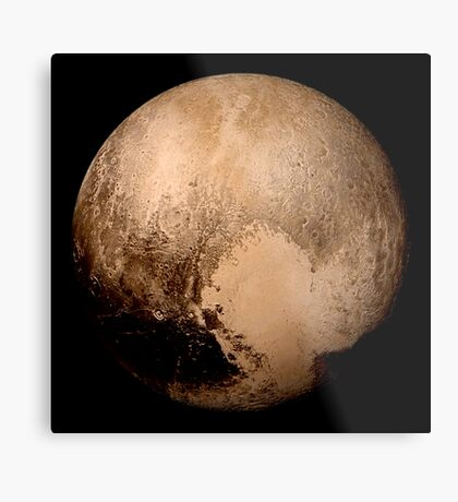 Pluto super high resolution Metal Print