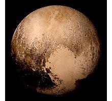 Pluto super high resolution Photographic Print