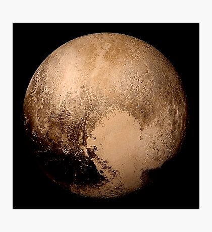 Pluto super high resolution Photographic Print