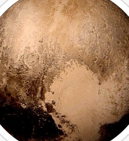 Pluto super high resolution Sticker