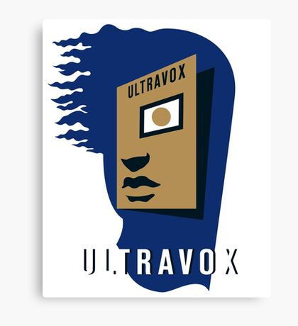 Ultravox Rage in Eden Canvas Print