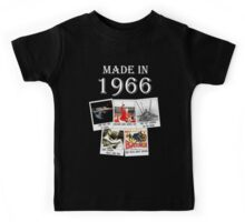 Made in 1966, main historical events Kids Tee
