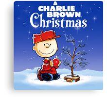 CHARLIE BROWN CHRISTMAS 24 Canvas Print