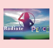 Radiate PEACE Hooper Silhouette Kids Clothes