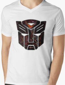 Autobots Abstractness Mens V-Neck T-Shirt