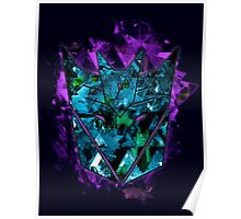Decepticons Abstractness Poster