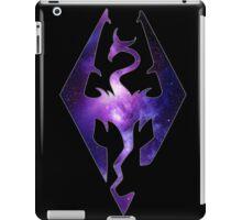 Purple Galaxy Seal of Akatosh iPad Case/Skin