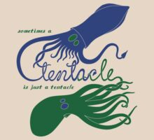 Just a Tentacle - dark by cepheart