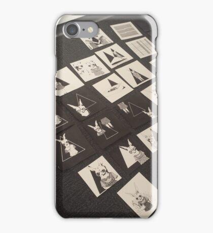 Product Shot Rabbits iPhone Case/Skin