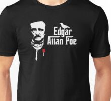 Edgar Allan Poe (The Godfather parody) Unisex T-Shirt