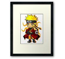 Naruto Chibi Framed Print