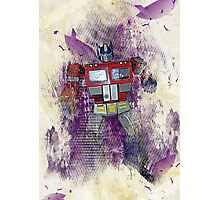 G1 - Optimus Prime Photographic Print