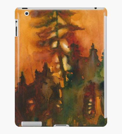 Forest Fire #1 iPad Case/Skin