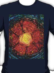 Red Flower Art - Incurable Romantic - By Sharon Cummings T-Shirt