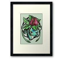 Ivysaur Framed Print