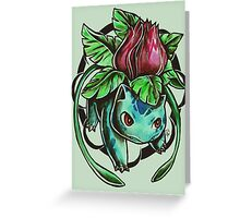 Ivysaur Greeting Card