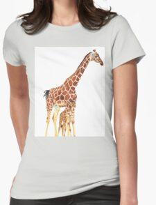 Giraffe Art - A Mother's Love - By Sharon Cummings T-Shirt