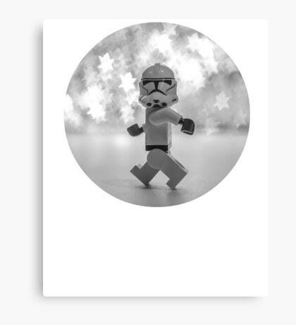 Starwars Dancing Lego Canvas Print