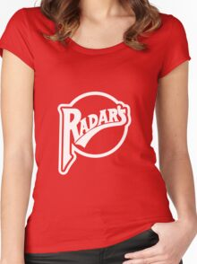 The Classic Design Radars T Women's Fitted Scoop T-Shirt