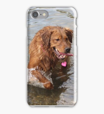 Athena - Goofy pup iPhone Case/Skin
