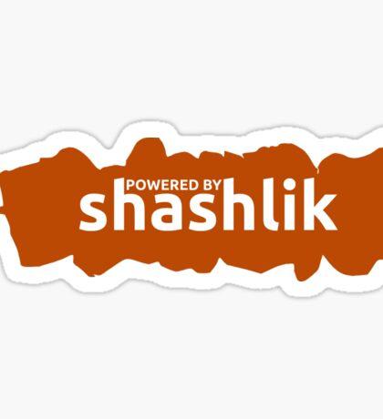 Powered by shashlik! Sticker
