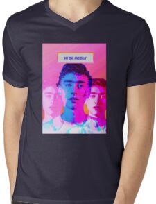 My one and OLLY! Mens V-Neck T-Shirt