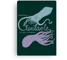 Just a Tentacle - light Canvas Print
