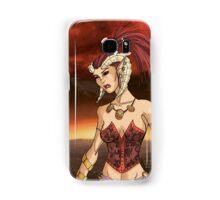 Horned Girl Samsung Galaxy Case/Skin