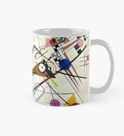 Composition n°8 Vassily Kandinsky abstract Mug